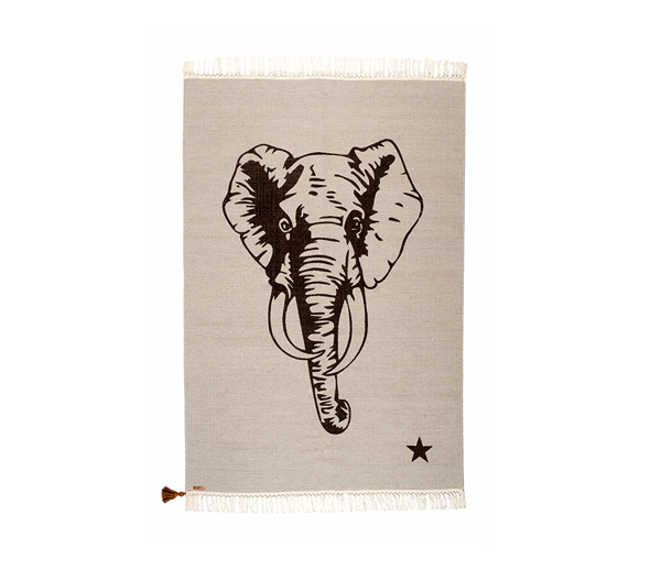 Tapis Gypsy Elephant 100x150