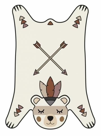 Tapis Peau d'ours 99 x 150