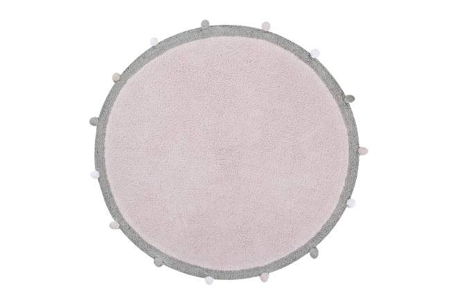 Tapis Rond Bubbly