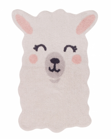 Tapis Smile Like a Llama
