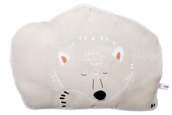 Coussin Igor l'ours