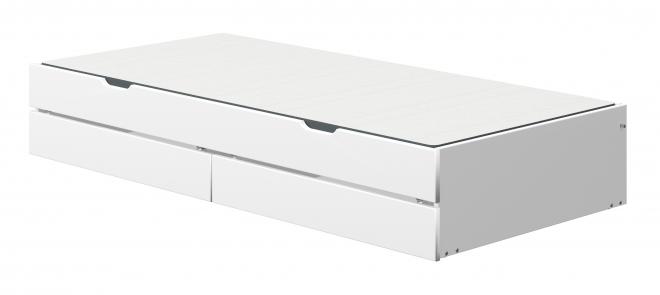 Tiroir lit Nor 90x190 + tiroirs