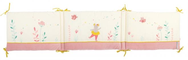 tour de lit mademoiselle souris moulin roty file dans ta chambre. Black Bedroom Furniture Sets. Home Design Ideas