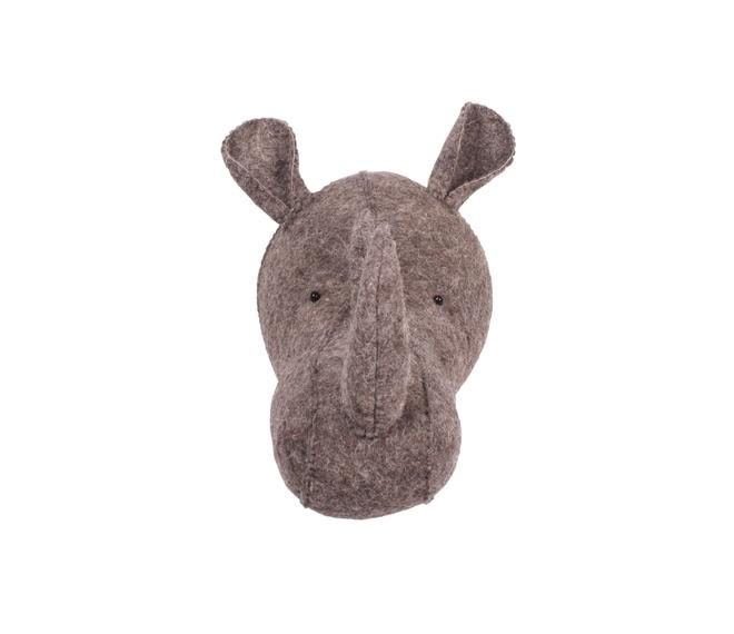 Trophée Rhino en feutre