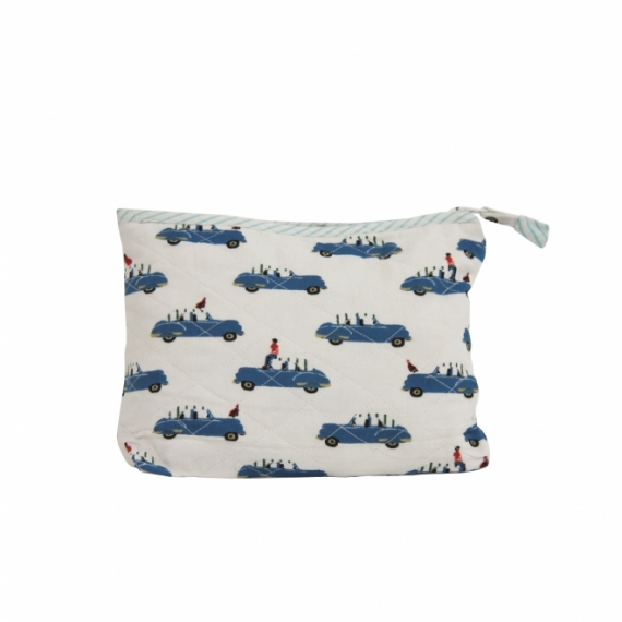 Trousse de toilette Blue Cars