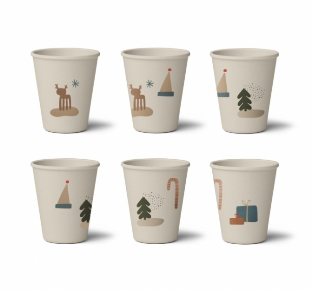 Verres Gertrud Holiday - Lot de 6
