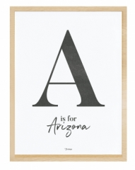 Affiche encadrée A For Arizona