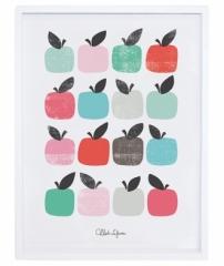 Affiche encadrée Pommes