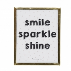 Affiche encadrée Smile