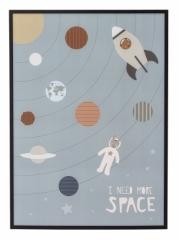 Affiche encadrée Space