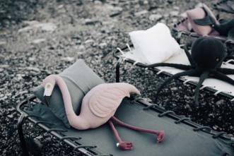 Coussin Polly Flamingo