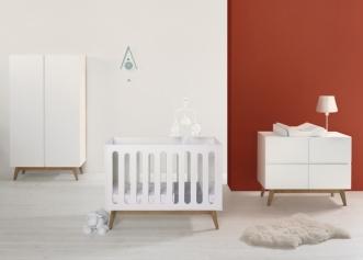 Lit bébé évolutif Trendy 60x120