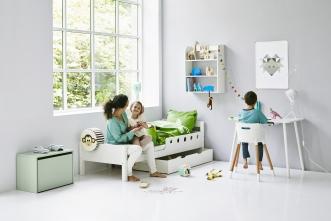 Tiroir de rangement  pour Lit enfant extensible White