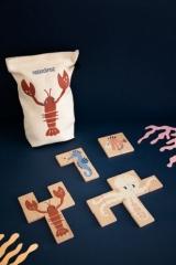 Puzzle en bois Sea Animals