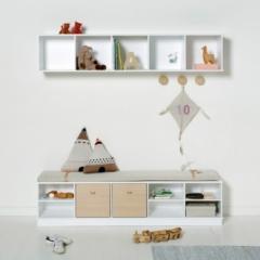 Socle pour étagère Wood  5x1-5x2