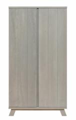 Armoire 2 portes XL Pebble Wood