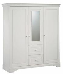 Armoire 3 Portes avec miroir Elodie