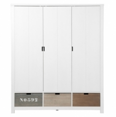 Armoire 3 Portes Basic Wood