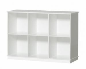 Bilbliothèque Horizontale Wood 3x2