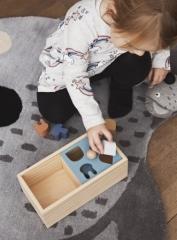 Boîte à puzzle en bois