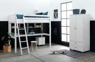 Bureau pour lit mezzanine Romantic Crossbar