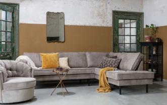 Canapé d'angle droit Eugène