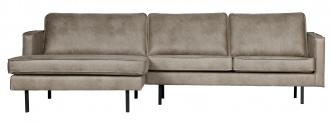 Canapé d'angle Eugène méridienne gauche