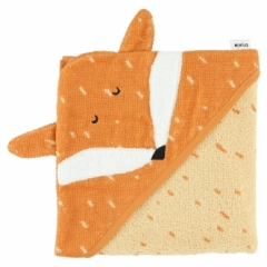 Cape de bain Renard Mr Fox 75x75