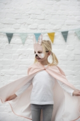 Cape et masque Lapin Mrs Rabbit