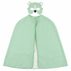 Cape et masque Ours polaire Mr Polar Bear