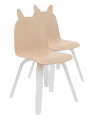 Petite chaise Lapin - Lot de 2