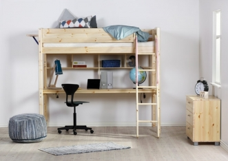 Bureau pour lit mezzanine Basic Trendy