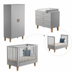 Chambre bébé Lounge évolutive 70x140