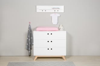 Commode Blanche Chambre. Commode. Commode Avec 2 Portes Finition ...