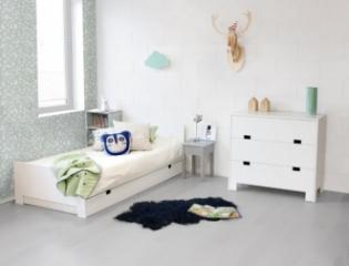 Lit enfant Marshmallow 90x190 + tiroir lit