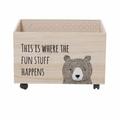 Coffre à jouets Bear