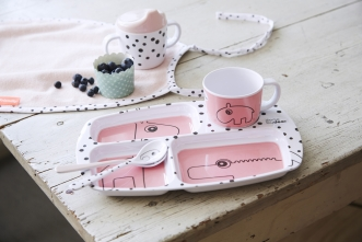 Coffret plateau Happy Dots