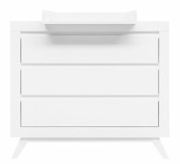 Commode 3 tiroirs Anne + plan à langer