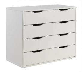 Commode 4 tiroirs pour lit mezzanine mi-hauteur Wild