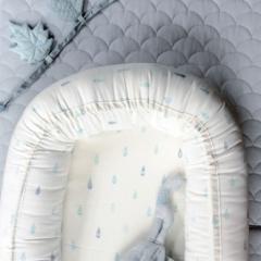 Couffin réducteur de lit Raindrops