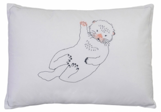 Coussin 30x40 Loutre