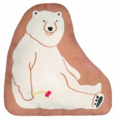 Coussin Doudou Ours in Love