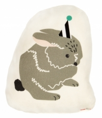 Coussin Doudoun Party Rabbit