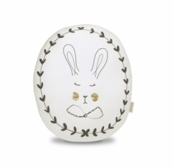 Coussin Portraits Rabbit