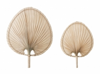 Déco murale Palm leaf - Lot de 2