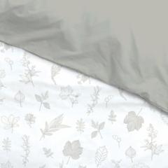 Housse de couette AntiPipi 100x140 Feuilles