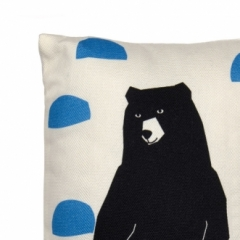 Mini coussin Grizzly