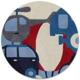 Tapis Puzzle Voyage 110x160