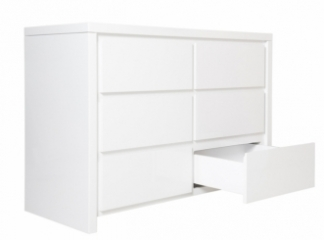 Commode 6 tiroirs Camille
