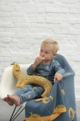 Doudou en tricot Belette Whippy Weasel